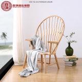 星のホテルのレストランの喫茶店の家具のための現代木の孔雀の椅子