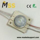 Resistente al agua de alta potencia de 1,5 W 120-140lm módulo LED de iluminación lateral de doble cara Lightbox