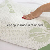 &ndash di bambù del cuscino; Un insieme di un &ndash dei 2 cuscini del collo; &ndash antibatterico & Hypoallergenic; Coperchio di bambù naturale Zippered smontabile