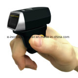 Icp-Er1 1d Bague Mini portable Bluetooth doigt Barcode Scanner pour l'industrie et d'Ios/Android /Windows