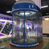 Preiswertes Wohnhaus verwendete Glas aussondern ein Personen-Aufzug-panoramisches Höhenruder