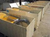 ミキサーおよびねじポンプを搭載する機械を塗る乳鉢