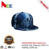Панели Brim 6 логоса вышивки шлем Snapback печатание цифров плоской изготовленный на заказ флористический