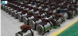 Valvola a sfera montata perno di articolazione d'acciaio forgiata unidirezionale