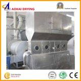 Máquina de secagem horizontal de base fluida usada na indústria de gêneros alimentícios