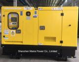 30kVA 24KW de Potência Contínua gerador diesel Perkin Original Gerador insonorizada