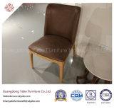 Современные цельной древесины стул для ресторана мебель (YB-LC401)