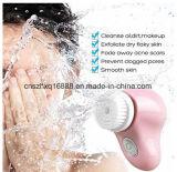 Insieme di spazzola di pulizia Exfoliating di filatura di pulizia della pelle elettrica dell'impianto di lavaggio del fronte di sfaldamento della spazzola del fronte del poro profondo impermeabile di pulizia della spazzola del Facial sonico
