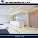 Blanco de luz LED de mostrador de recepción para la venta