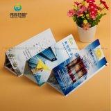 Kundenspezifisches gutes Entwurfs-Drucken gefaltetes förderndes Gaststätte-Reklameanzeige-Blättchen
