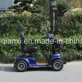 Балансировка нагрузки на четыре колеса скутера с электроприводом