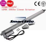 Levantador resistente linear del regulador 4mm/S 1500n del movimiento del actuador linear 12V de la C.C. del movimiento eléctrico del motor 450m m