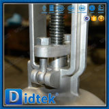 アクチュエーターを搭載するDidtek API60dのステンレス鋼のゲート弁