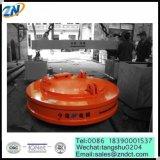 Diameter 1650mm Elektrische Opheffende Magneet voor de Behandeling van het Schroot van het Staal van MW5-165L/1