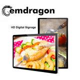 La publicité player joueur Ad LED 32 pouces de bannière publicitaire Kiosque de fast food La signalisation numérique LCD