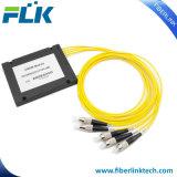Rectángulo plástico óptico óptico CWDM de fibra del canal del Wdm Mux/Demux 1*4/8/16