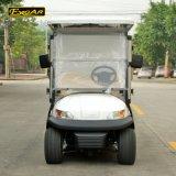 Тележка гольфа 2 мест электрическая с стальной или алюминиевой коробкой груза