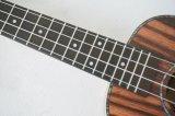 Aiersi 상표 자바 흑단 바디 하와이 24 인치에 의하여 박판으로 만들어지는 우쿨렐레 Su 204