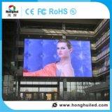 높은 광도 P8 옥외 전시 LED 영상 벽