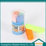 Tissu de nettoyage personnalisé de Microfiber pour le nettoyage à la maison