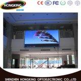 P7.62 Indoor Die-Casting Affichage LED de location avec boîtier en aluminium