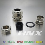 Il magnesio IP68 di Hnx impermeabilizza il connettore di cavo d'ottone G3 con Ce