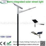 LED Semi-Integrated Rua Solar Luz para iluminação da Cidade