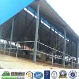 Tettoia della costruzione dell'acciaio per costruzioni edili del magazzino