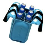 Le néoprène, Pack de 6 sac de refroidisseur de bouteilles de boissons avec poignée isolée antichoc