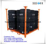 Aço resistente do armazenamento do armazém que empilha o racking do pneu