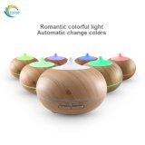 Difusor ultra-sônico do aroma do petróleo essencial da multi grão de madeira das cores 300ml