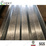 강철 철 루핑 갑판 또는 물결 모양 금속 지붕 Decking