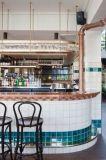Blanco 6X6 pulgadas/15x15cm brillante de la pared de cerámica esmaltada azulejo Metro baño cocina Decoración