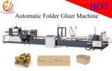 Máquina de alta velocidade automática de Gluer do dobrador