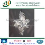 Prototipificação plástica impressa 3D do Rapid da flor de SLA/SLS