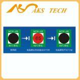 Etiquetas engomadas cambiantes del color sensible al calor industrial reversible del uso del OEM