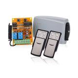 Receptor universal com o transmissor de rádio da porta da garagem de 2 canaletas e o jogo do receptor