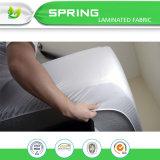 Protetor impermeável do colchão do algodão orgânico de 100%