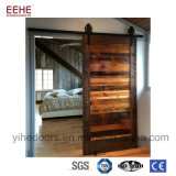 Moderno diseño popular de la puerta del granero de madera corrediza