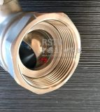 Exprimés en acier inoxydable à filetage femelle à JIS 2PC Clapet à bille