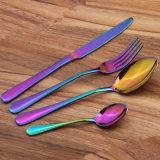 Нержавеющая сталь ложки вилки ножи Недорогие столовые приборы наборы
