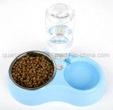 Cuvette en plastique de chat d'animal familier de l'eau d'offre automatique d'acier inoxydable d'OEM