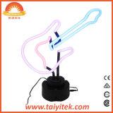 Lámpara de neón fresca modificada para requisitos particulares regalo de Guiater del tubo de cristal del festival de Hotselling