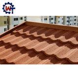 La norma europea al por mayor de metal recubierto de piedra techos tejas