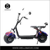 Самокат батареи мотовелосипеда 60V оптового типа 25km/H Citycoco Harley дешевый электрический