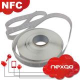 13.56MHz etiqueta passiva personalizada do Anti-Metal RFID NFC com preço de fábrica
