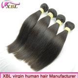 クリスマスの熱い販売の良質9Aのバージンのまっすぐなペルーの毛