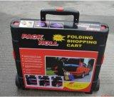 Carro plástico Foldaway do rolamento dobrável plástico
