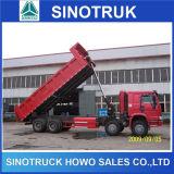 30t Sinotruk HOWOの頑丈な土のダンプトラック