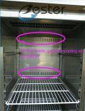 Seis de la puerta de acero inoxidable heladera comercial Gabinete en el Restaurante o Cafetería (GN1/1)